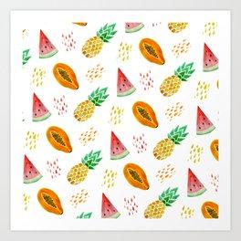 juicy Art Print