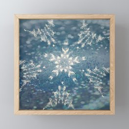 Winter Fairydust Framed Mini Art Print