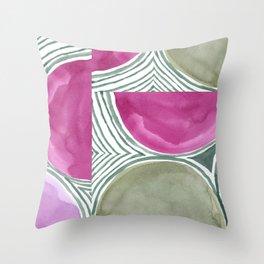 Orbits Throw Pillow
