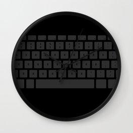 Captain's Keyboard Wall Clock