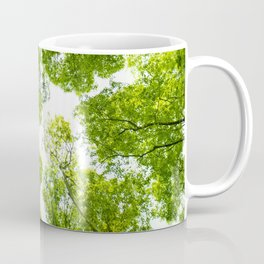 New green leaves Coffee Mug