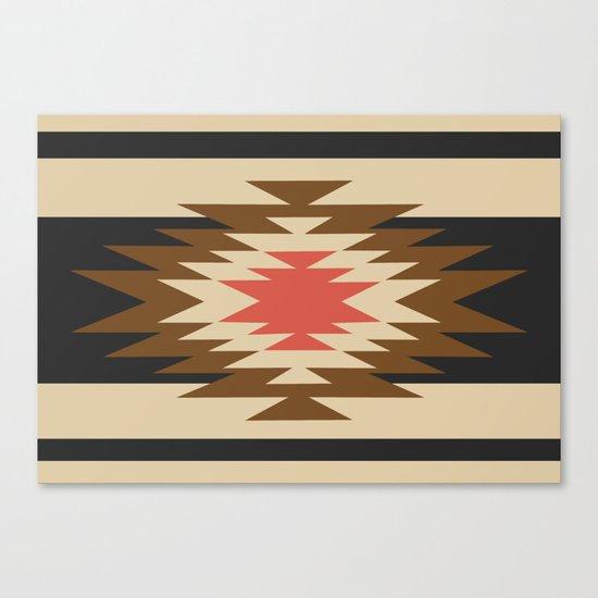 Aztec 1 Canvas Print