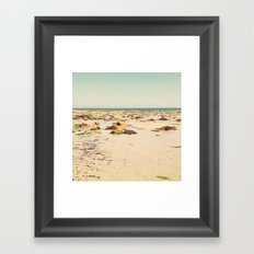 Rocky Beach Framed Art Print
