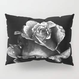 Black Rose Pillow Sham
