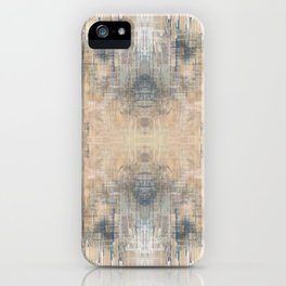 Glitch Vintage Rug Abstract iPhone Case