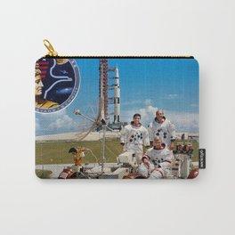 Apollo 17 - Prime Crew Portrait Carry-All Pouch