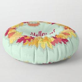 Hello, Autumn! Floor Pillow