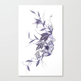 Face of Nature Canvas Print