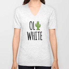 Oli White - Cactus! Unisex V-Neck