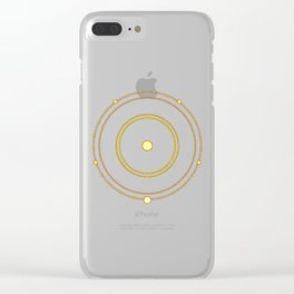 Circle of the Seraph Clear iPhone Case