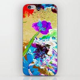 Flowers on the Shore iPhone Skin