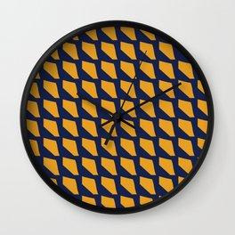 Abstract Lizard skin Wall Clock