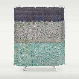 Ground Shower Curtain