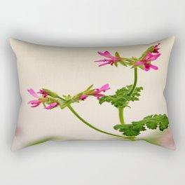 Geraniums (Pelargonium) #5 Rectangular Pillow
