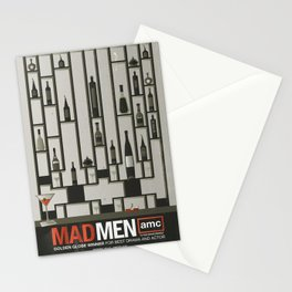 MADMEN Stationery Cards