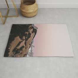 Pastel Sunset   Nature and Landscape Photography Rug