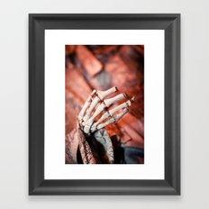 Broken Fingers Form Broken Chords Framed Art Print