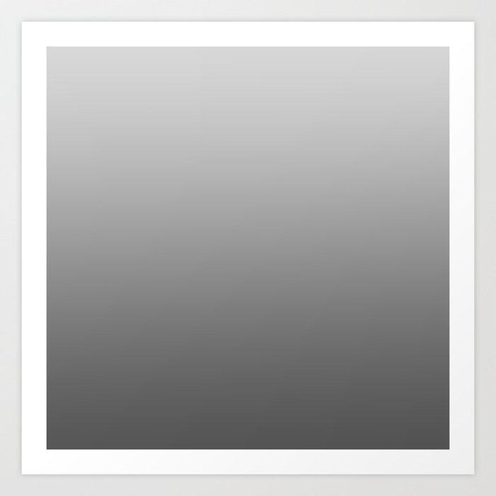 Grey Ombre Kunstdrucke
