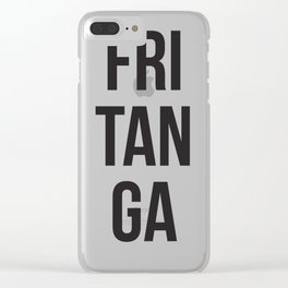 fritanga Clear iPhone Case
