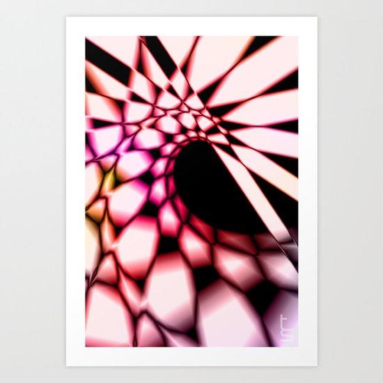 Curve Art Print