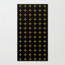 SLE Crosses Canvas Print