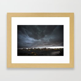New York Before the Storm Framed Art Print