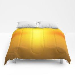 Hot Orange Comforters