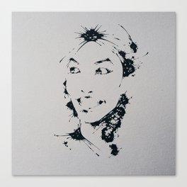 Splaaash Series - Yay Ink Canvas Print