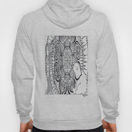 Polar Bear Mandala by Lady Lorelie Hoody