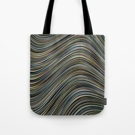 MAGS multi-colour layers create a giant wave Tote Bag