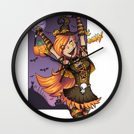 Halloween Candy! Wall Clock