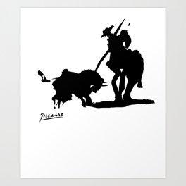 Pablo Picasso Picador 1959 Artwork Shirt, Art Reproduction Art Print