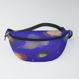 Space Story Fanny Pack