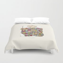 sleeping child Duvet Cover