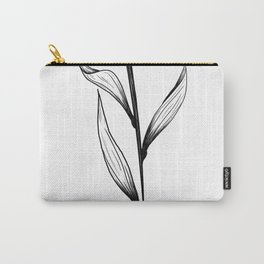 Lone Tulip Carry-All Pouch