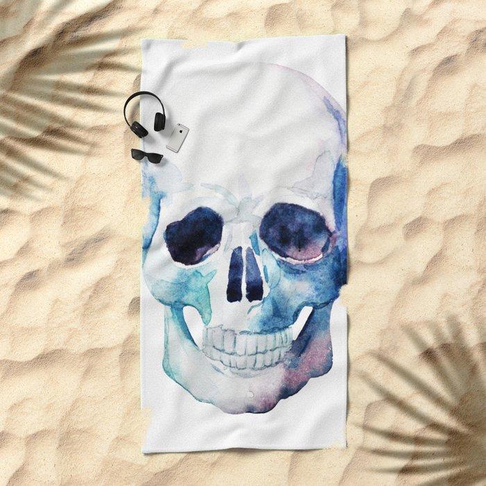 Skull 07 Beach Towel