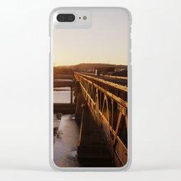 Bridges 2 Clear iPhone Case