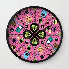 90s Girl Wall Clock
