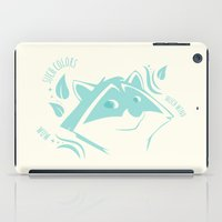 doge iPad Cases featuring Meeko Doge by ClaunchDesign