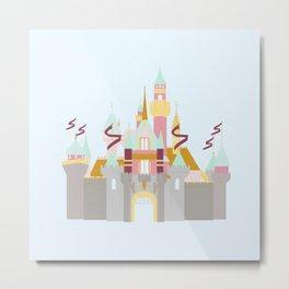 castle 5 Metal Print