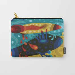 Turbo-Wobble Carry-All Pouch