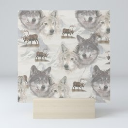 Canadian Wildlife  Mini Art Print