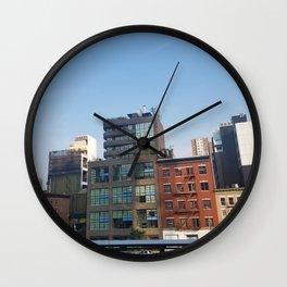 city_9 Wall Clock