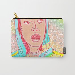 FEM NotShe - Hipster Chick Fashion Digital Drawing Carry-All Pouch