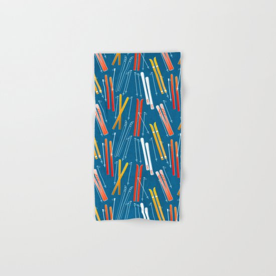 Colorful Ski Pattern by happyplum