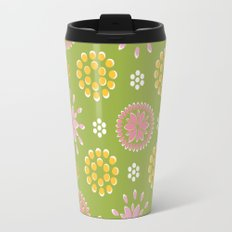 Lime Deco Travel Mug