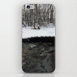 A stream of winter iPhone Skin