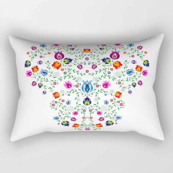Folk Pattern #3 Rectangular Pillow