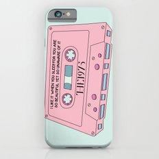 Cassete Tape Slim Case iPhone 6s