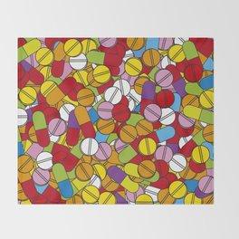 Lots of Pills Throw Blanket